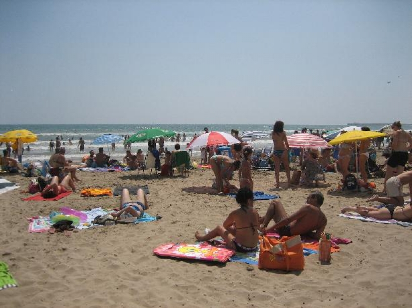 V lete na pláži