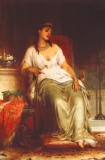Dicksee Cleopatra
