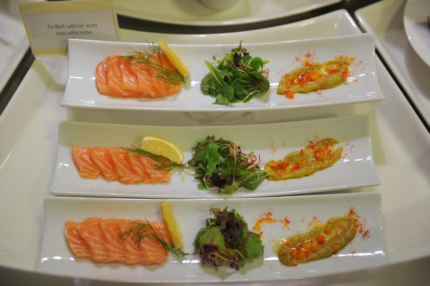 ryby a zelenina