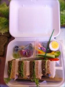 Obed z vlastných rúk