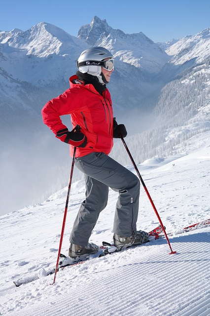 trendy lyžiarka