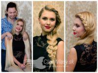 CLIP – IN vlasy tej najvyššej kvality a elegancie