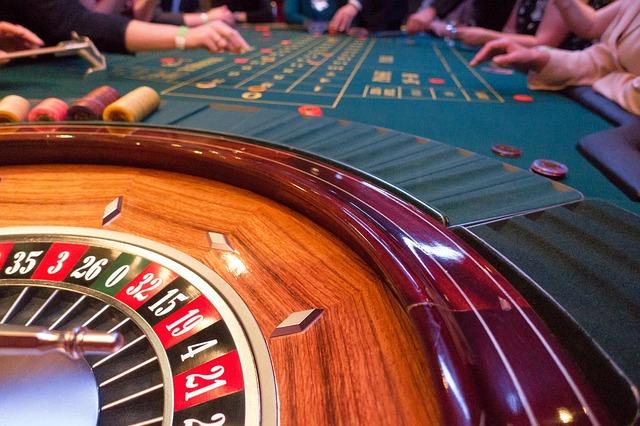 Hranie rulety v kasíne